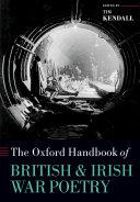 Pdf The Oxford Handbook of British and Irish War Poetry Telecharger