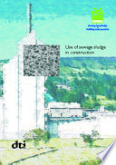 Use of Sewage Sludge in Construction