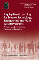 Inquiry Based Learning for Science  Technology  Engineering  and Math  STEM  Programs