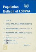 Population Bulletin of Escwa