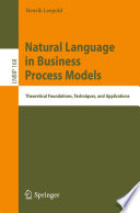 Natural Language in Business Process Models