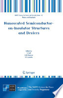 Nanoscaled Semiconductor on Insulator Structures and Devices Book