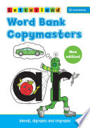 Books - Letterland Word Bank Copymasters | ISBN 9781862092495