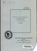 Separation of Transplutoniums and Lanthanides by Tertiary Amine Extraction Book
