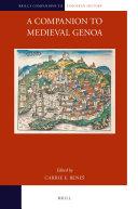 A Companion to Medieval Genoa