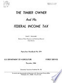 The Timber Owner and His Federal Income Tax Book