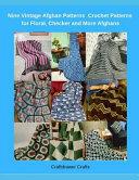 Nine Vintage Crochet Afghans Patterns   Crochet Patterns for Floral  Checker and More Afghans