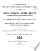 Account of the Operations of the Great Trigonometrical Survey of India