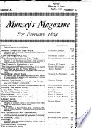 Munsey s Magazine for