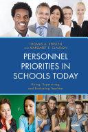 Personnel Priorities in Schools Today