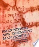 Encountering New Testament Manuscripts Book PDF