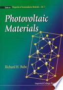 Photovoltaic Materials