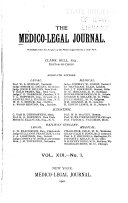 The Medico Legal Journal