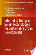 Internet of Things in Smart Technologies for Sustainable Urban Development Book