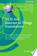 VLSI-SoC: Internet of Things Foundations