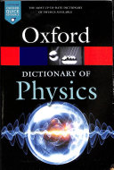 link to A dictionary of physics. in the TCC library catalog