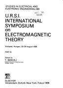 U R S I  International Symposium on Electromagnetic Theory  Budapest  Hungary  26 29 August 1986