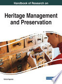 Handbook Of Research On Heritage Management And Preservation Book