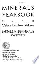 Minerals Yearbook Book