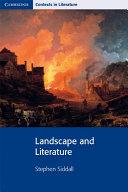 Landscape and Literature