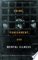 Crime Punishment And Mental Illness