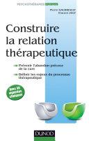 Pdf Construire la relation thérapeutique Telecharger