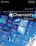 Books - Cambridge International As & A Level Chemistry Workbook With Cd-Rom | ISBN 9781316600627