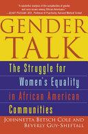 Gender Talk Pdf/ePub eBook