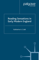 Reading Sensations in Early Modern England