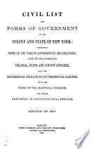 The New York Civil List Book