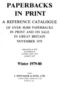 Paperbacks in Print