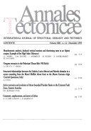 Annales Tectonicae