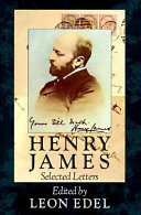 Henry James, Selected Letters