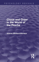 Pdf Chaos and Order in the World of the Psyche Telecharger