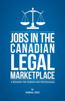 Jobs in the Canadian Legal Marketplace