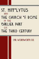 Pdf St. Hippolytus and the Church of Rome Telecharger