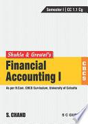 Financial Accounting I  CBCS CU