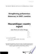 Strengthening Parliamentary Democracy in SADC Countries