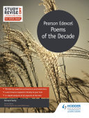 Study and Revise Literature Guide for AS A level  Pearson Edexcel Poems of the Decade