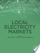 Local Electricity Markets Book