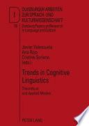 Trends in Cognitive Linguistics