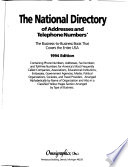 National Directory of Addresses and Telephone Numbers