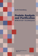Protein Analysis and Purification