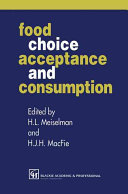 Food Choice  Acceptance and Consumption