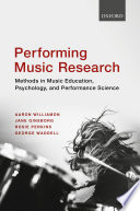 Performing Music Research
