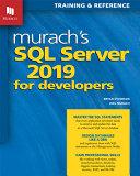 Murach s SQL Server 2019 for Developers