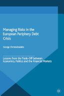 Pdf Managing Risks in the European Periphery Debt Crisis Telecharger