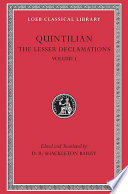 Read Online The Lesser Declamations For Free