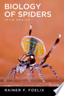 """Biology of Spiders"" by Rainer Foelix"