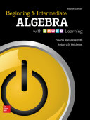 Beginning and Intermediate Algebra with P O W E R  Learning
